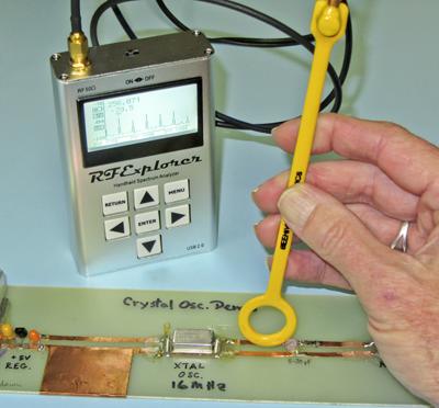 Enhanced RF Explorer spectrum analyzer coming