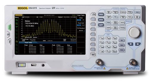 First Impressions - Rigol DSA815TG Spectrum Analyzer